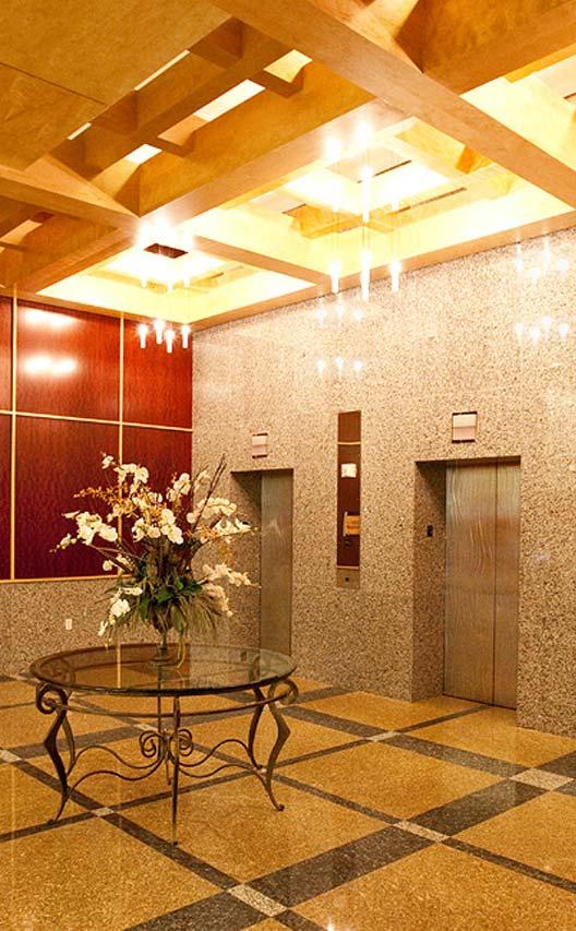 کابین لوکس آسانسور تولید شده توسط شرکت نصب آسانسور عرش بام تهران