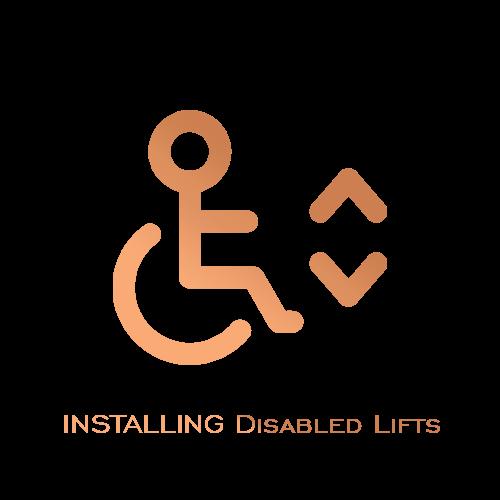نصب و راه اندازی انواع آسانسورهای پله و ویژه معلولین - توسط شرکت نصب آسانسور عرش بام تهران